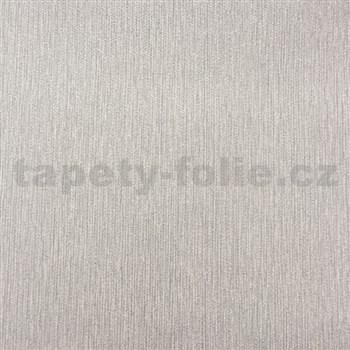 Papierové tapety na stenu štruktúrovaná sivá