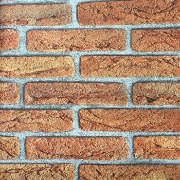 Papierové tapety na stenu tehla oranžová