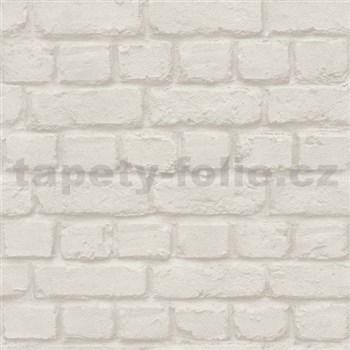 Vliesové tapety na stenu Metal Spirit tehla svetlo hnedá
