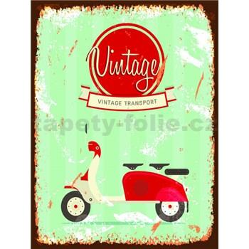 Retro tabula Vintage 40 x 30 cm