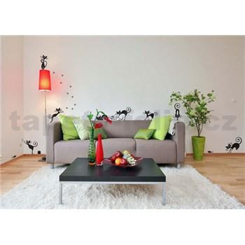 Samolepky na stenu mačky