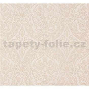 Vliesové tapety na stenu Sinfonia ornament svetlo béžový - POSLEDNÉ KUSY
