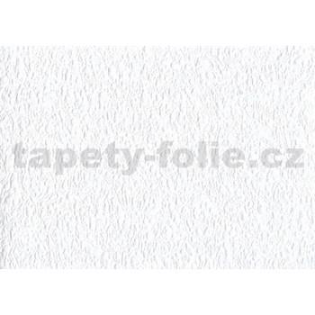 Papierová tapeta - štruktúrovaná biela - ZĽAVA