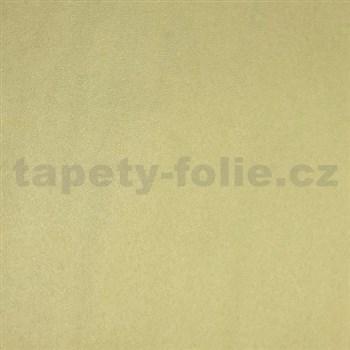 Papírove tapety na stenu Code Red - jednofarebná - žltá