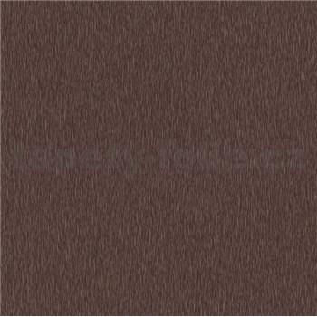 Luxusné vliesové tapety na stenu Spotlight 2 jemné štruktúrované prúžky tmavo hnedé