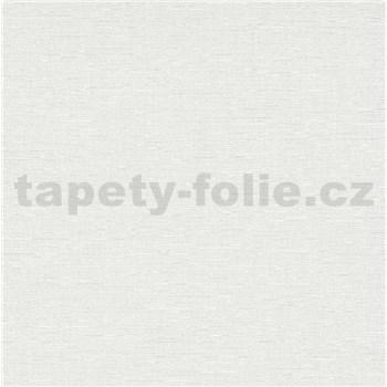 Vliesové tapety na stenu IMPOL Spotlight 3 štruktúrovaná jednofarebná biela