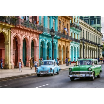 Vliesové fototapety Cuba rozmer 368 cm x 254 cm