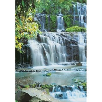 Vliesové fototapety Pura Kaunui Falls rozmer 124 cm x 184 cm