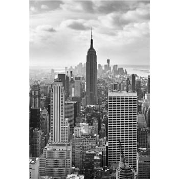 Vliesové fototapety New York Black and White rozmer 124 cm x 184 cm