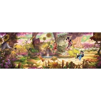 Vliesové fototapety lesné víly rozmer 368 cm x 127cm