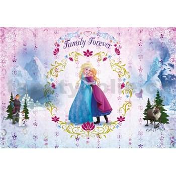 Vliesové fototapety Frozen Family Forever rozmer 184 cm x 254 cm