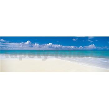 Vliesové fototapety opustená pláž rozmer 368 cm x 127 cm