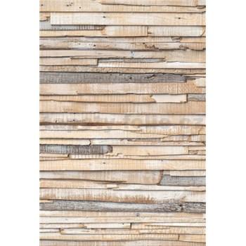 Vliesové fototapety obielené drevo rozmer 124 cm x 184 cm