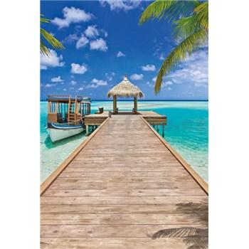 Vliesové fototapety Beach Resort rozmer 124 cm x 184 cm