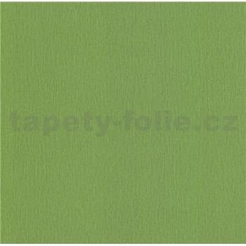 Papierové tapety na stenu Sweet & Cool jednofarebná so štruktúrou zelená - POSLEDNÉ KUSY
