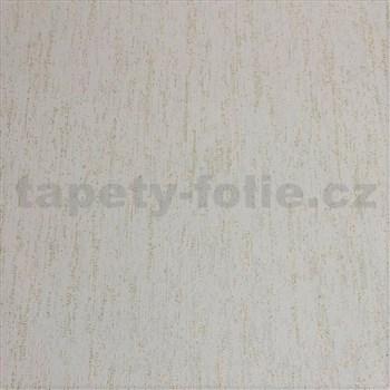 Vliesové tapety na stenu štruktúrovaná krémová