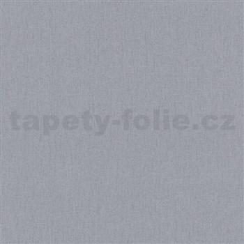 Vliesové tapety IMPOL Timeless štruktúrovaná jednofarebná tmavo sivá