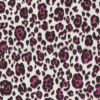 Vliesové tapety na stenu Trend Edition vzor leopard ružový