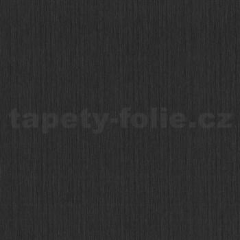 Vliesové tapety na stenu Tribute - štruktúrovaná čierna