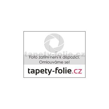 Behúň na stôl š.50cm návin 20 m kvetinky biele