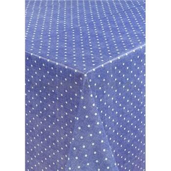 Obrusy návin 20 m x 140 cm bodky fialové