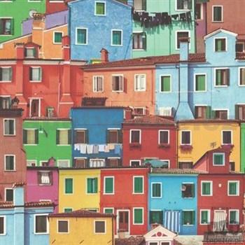 Vinylové tapety na stenu Replik Talianske domy