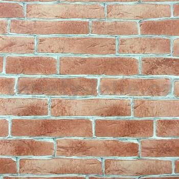 Vinylové tapety na stenu tehla červená - POSLEDNÉ KUSY