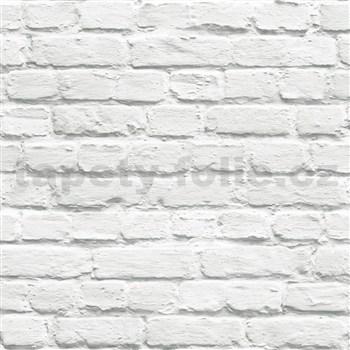 Vliesové tapety na stenu Just Like It tehla sivá s nátěrom
