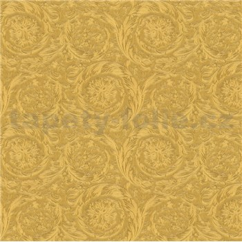 Luxusné vliesové  tapety na stenu Versace IV barokový vzor zlatý