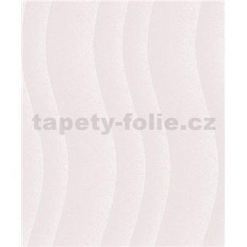 Vinylové tapety na stenu Vila vlny svetlo fialové