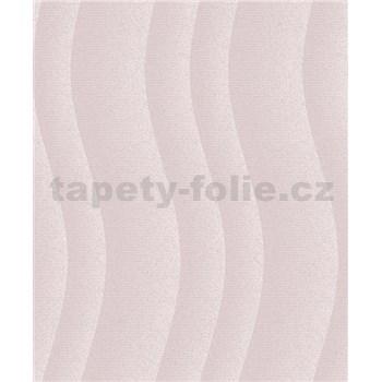 Vinylové tapety na stenu Vila vlny ružové