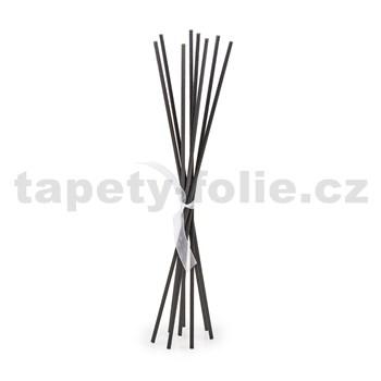 Čierne náhradne tyčinky set 10ks, výška 25 cm