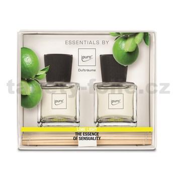 Bytová vôňa IPURO Essentials lime light set 2x50ml