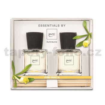 Bytová vôňa IPURO Essentials pure vanilla set 2x50ml