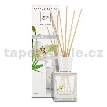 Bytová vôňa IPURO Essentials white lily difuzér 100ml