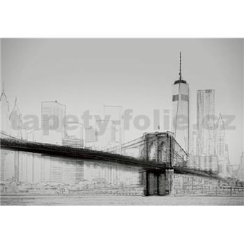 Fototapety umelecká ilustrácia - New York rozmer 368 x 254 cm