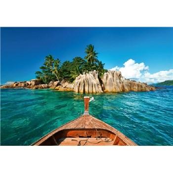 Fototapety St.Pierre ostrov na Seychelách rozmer 368 x 254 cm