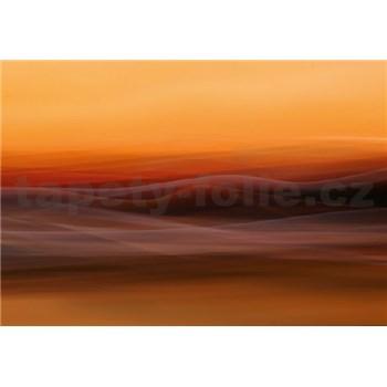 Fototapety oranžová hmla rozmer 368 x 254 cm