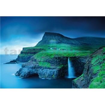 Vliesové fototapety Faerské ostrovy rozmer 368 cm x 254 cm