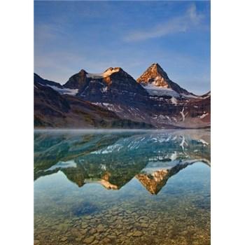 Vliesové fototapety jazero Magog Kanada rozmer 184 x 254 cm