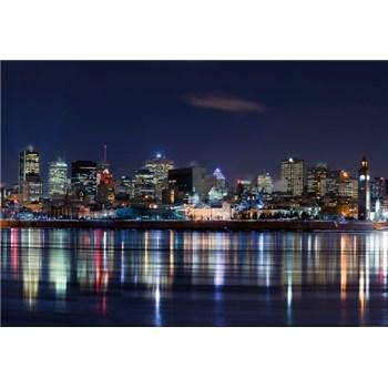 Fototapety nočný Montreal rozmer 368 x 254 cm