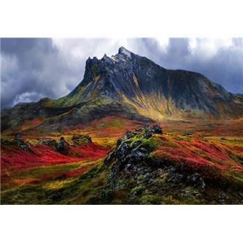 Fototapety hory na Islandě rozmer 368 x 254 cm
