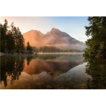 Fototapety horské jazero rozmer 368 x 254 cm