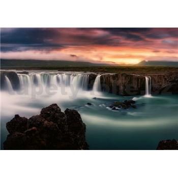 Vliesové fototapety hodvábne vodopády rozmer 368 cm x 254 cm