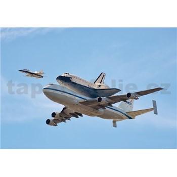 Fototapety vesmírny raketoplán rozmer 368 x 254 cm