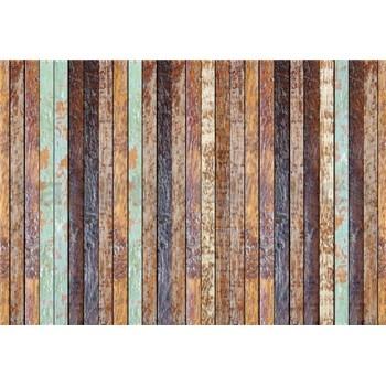 Fototapety vintage drevenná stena rozmer 368 x 254 cm