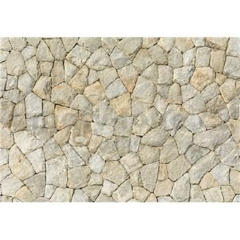 Vliesové fototapety prírodná kamenná stena rozmer 368 x 254 cm