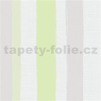 Vliesové tapety WohnSinn  pruhy zelené
