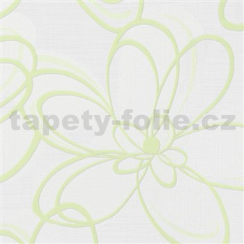 Vliesové tapety WohnSinn  kvety zelené
