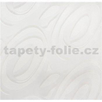 Vinylové tapety na stenu WohnSinn - abstraktný vzor biely